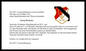 Der MTV Vernawahlshausen nimmt Abschied